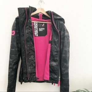 Super Dry Wind Cheater Jacket Small
